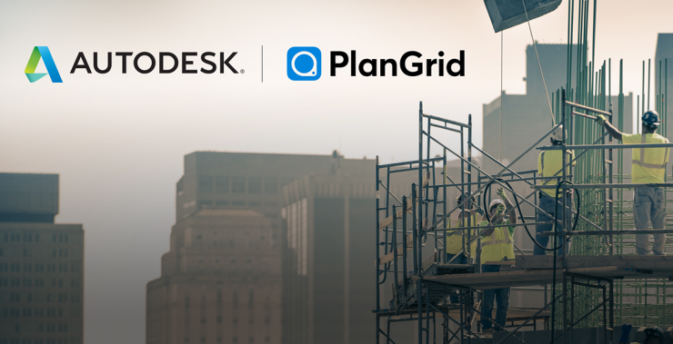 Autodesk acquires construction productivity cloud software startup PlanGrid for $875 million