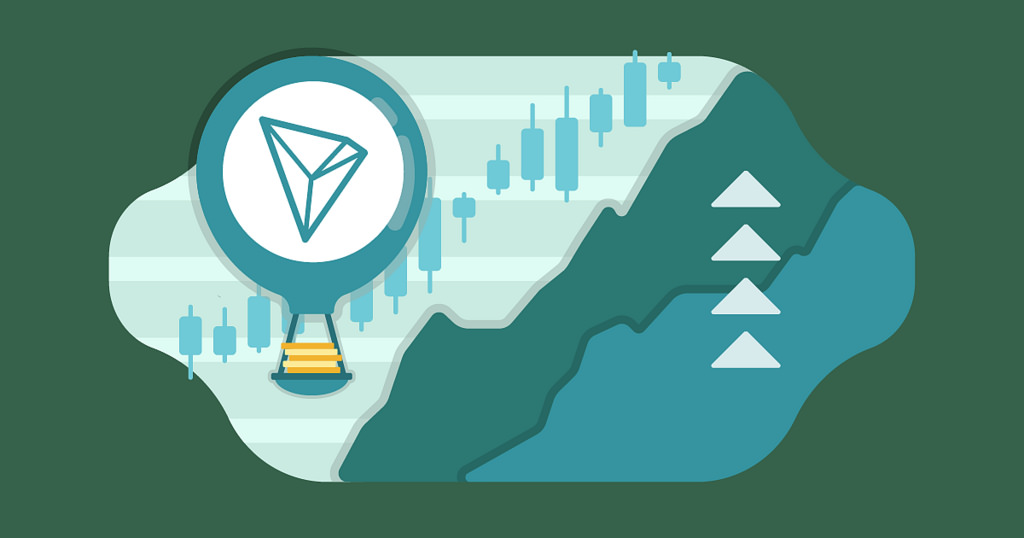TRON cryptocurrency shows solid price growth as it takes on Ethereum