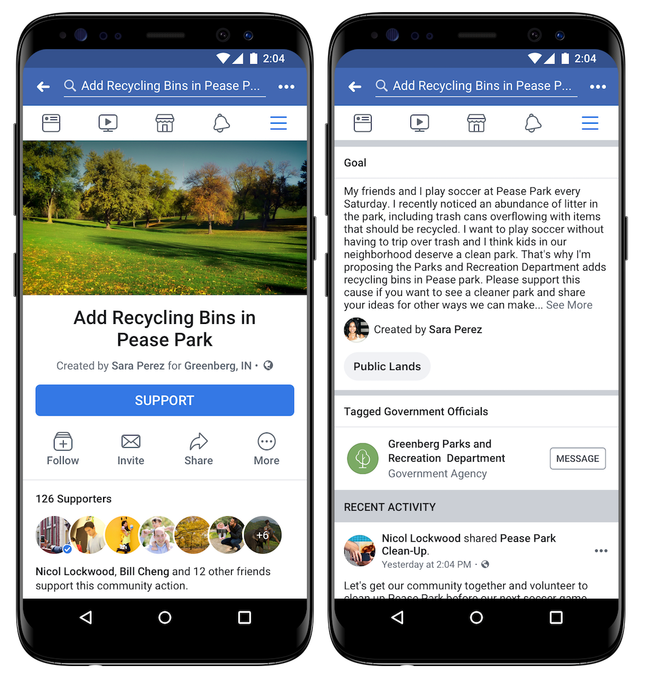 Facebook adds a petitions feature to the news feed - SiliconANGLE