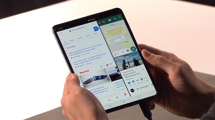 Entering the 5G era, Samsung launches Galaxy Fold and S10