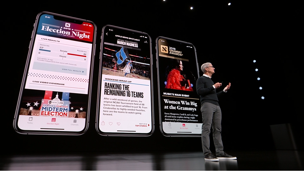 Subscription central: Apple debuts new services plus iPhone-linked credit card