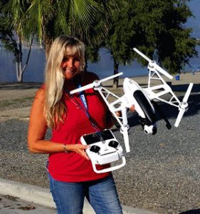 """Drone pilot Desiree Ekstein: """"Everything I do is so exciting"""""""