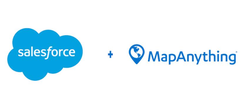 Salesforce buys location intelligence provider MapAnything