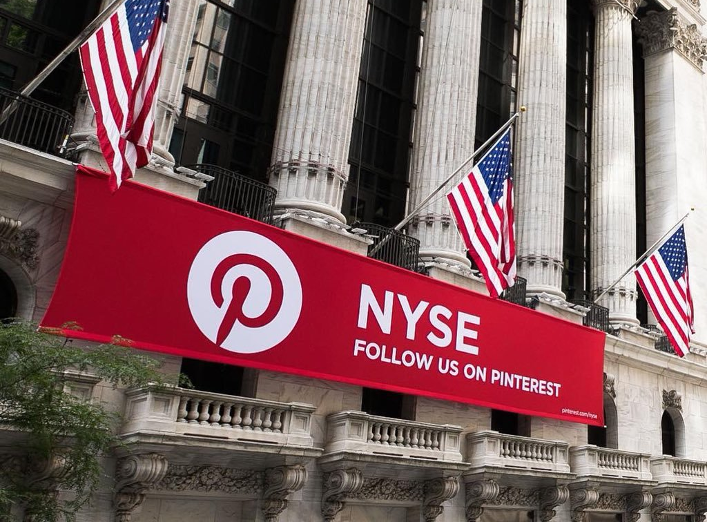 Pinterest sets planned ipo price