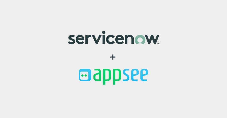 ServiceNow picks up mobile app analytics startup Appsee