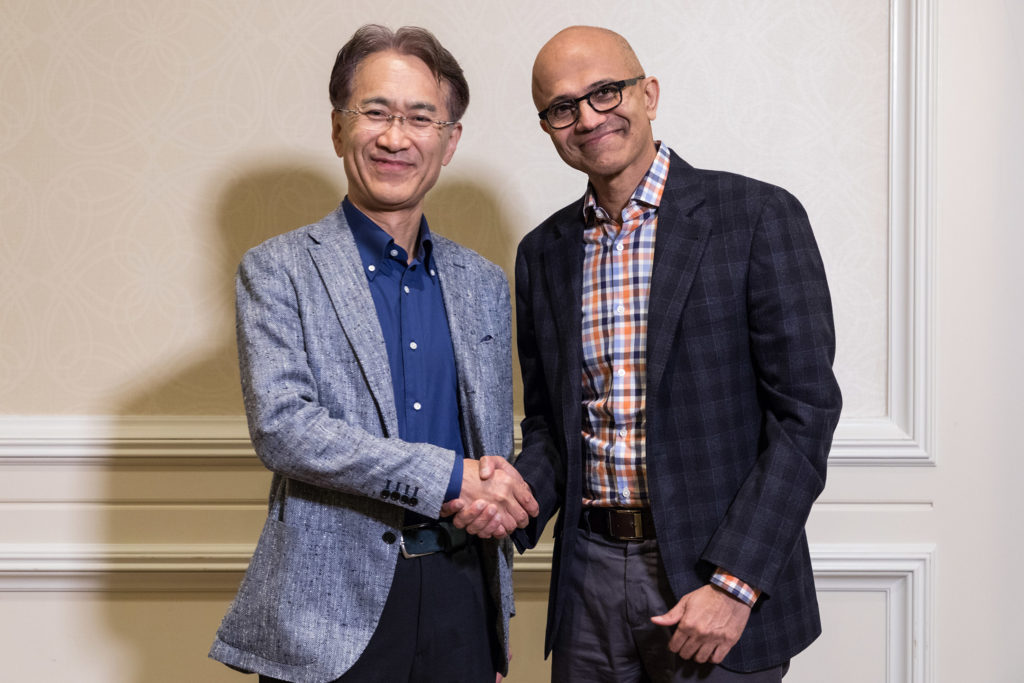 Microsoft and Sony say they're collaborating on cloud gaming and AI - SiliconANGLE