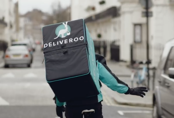 Amazon leads $575M round into UK food delivery startup Deliveroo - SiliconANGLE