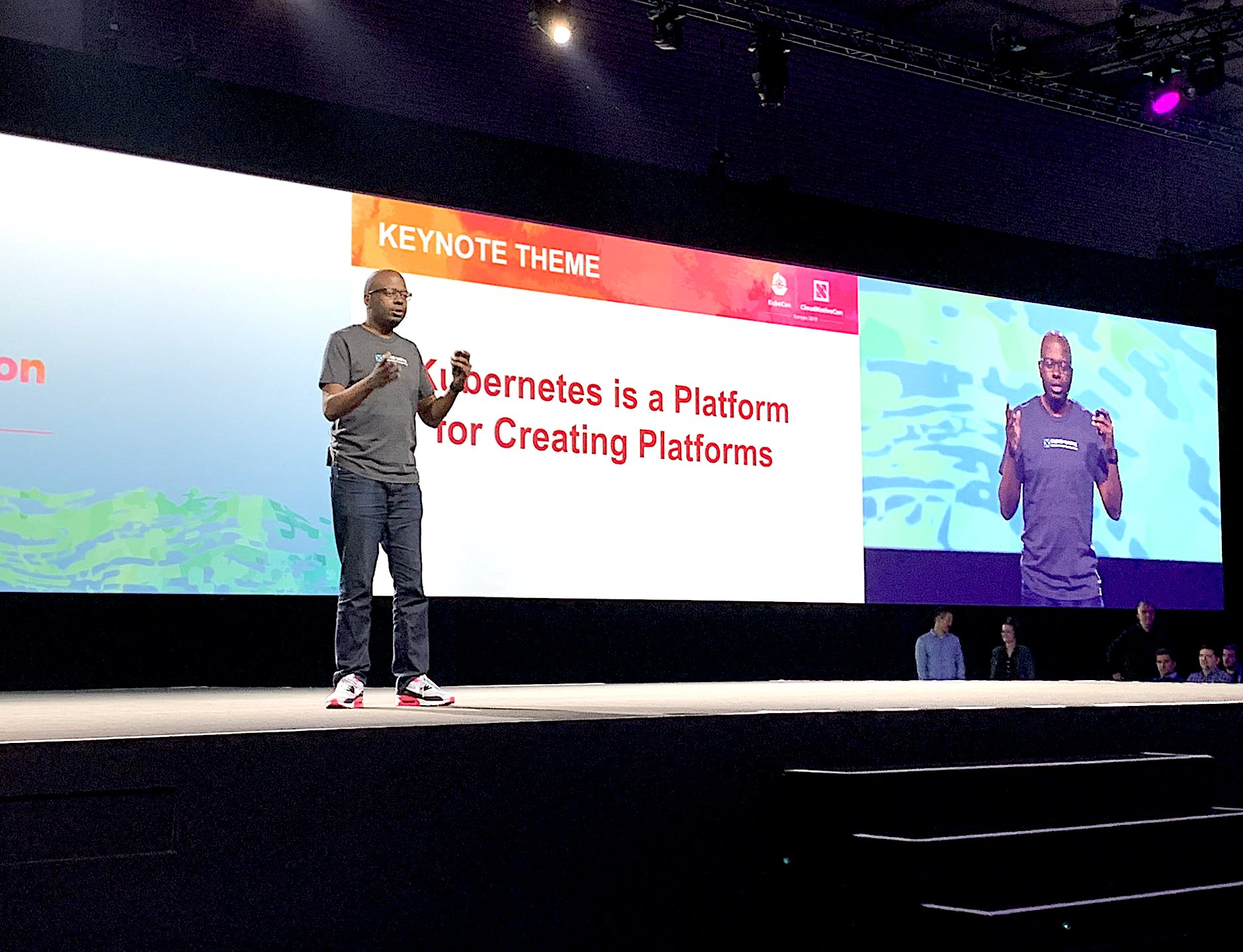 At KubeCon, the Kubernetes ecosystem goes all-in on cloud-native