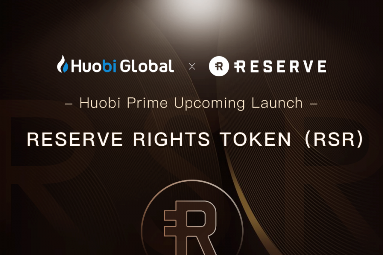 Huobi teams with Reserve on token issue for ambitious