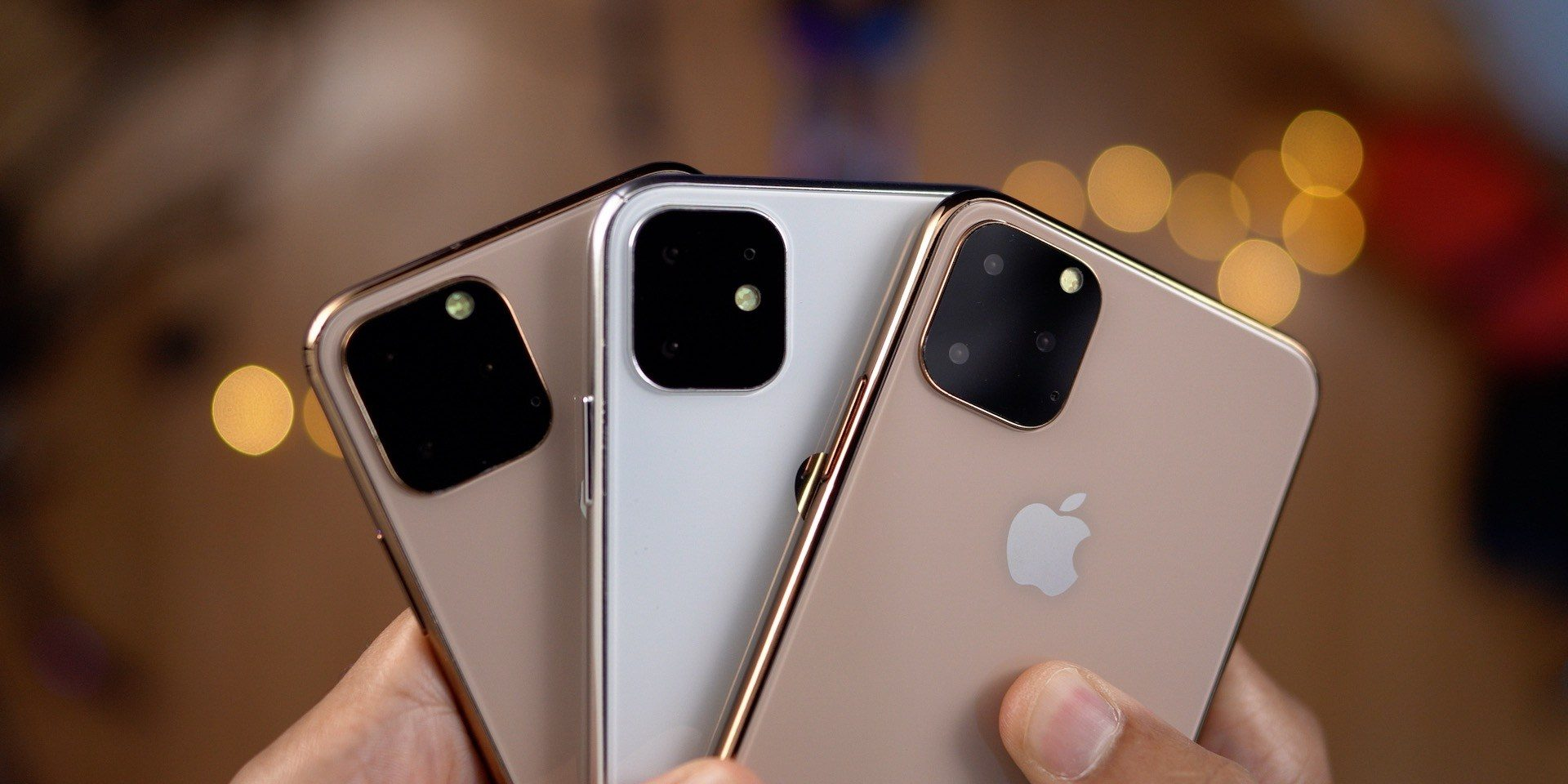 Report: Apple to release three new iPhone models with a trio of rear cameras