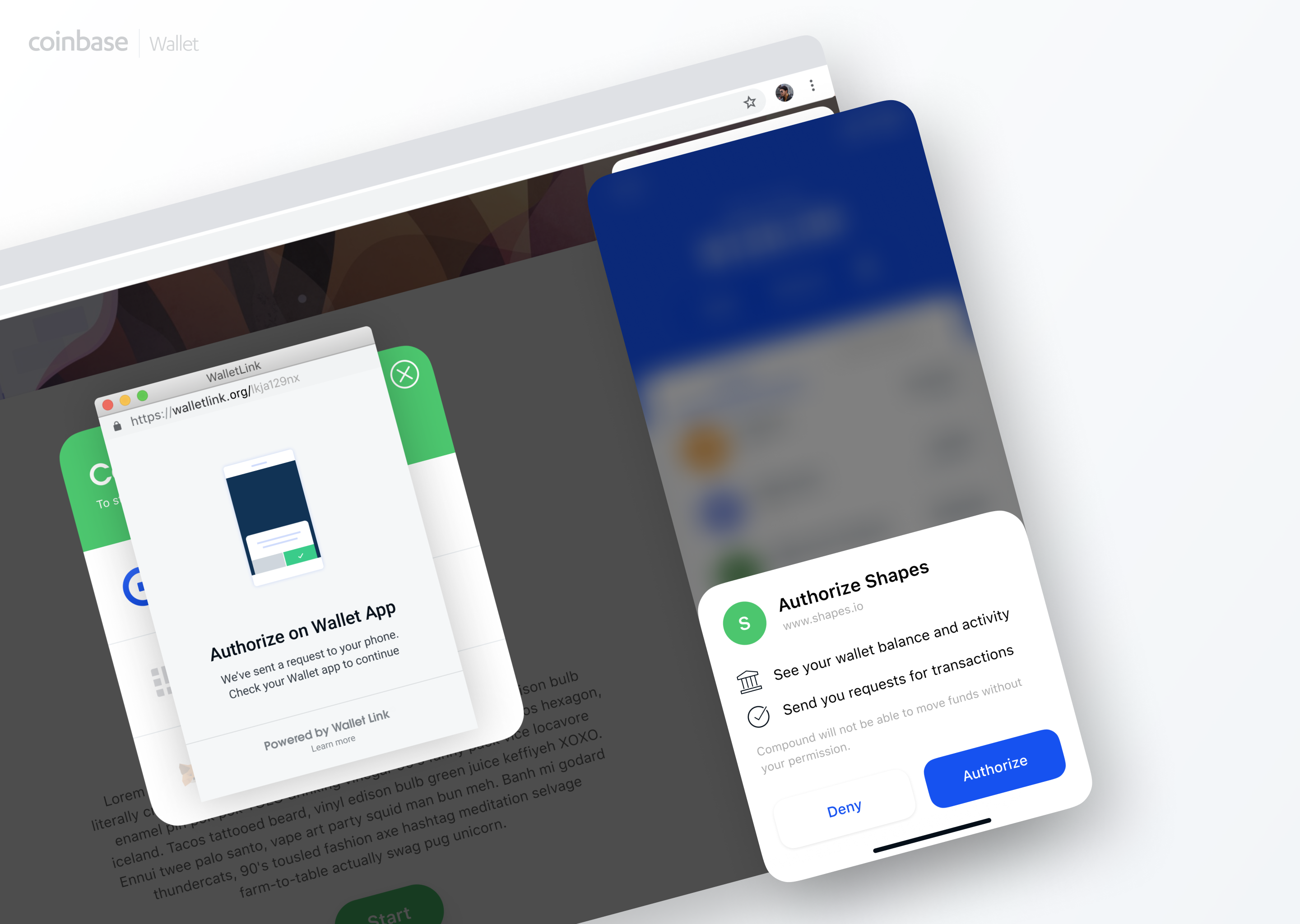 Coinbase brings blockchain dapps to desktop browsers with WalletLink