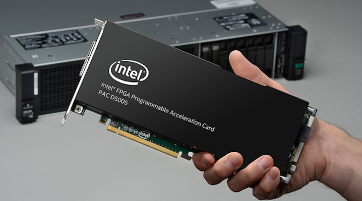 Intel's new PAC D5005 card is a beefed up, programmable server accelerator