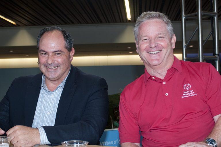 David Solo, Special Olympics and Rob Salmon, Cohesity Inc.