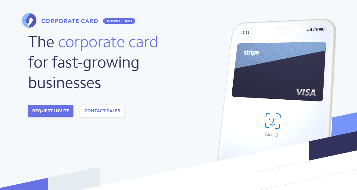 Stripe launches new corporate card pitched at small