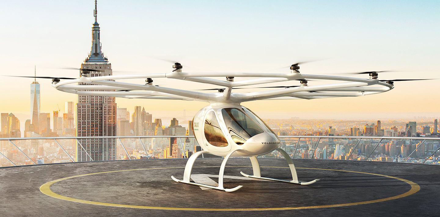 Flying taxi startup Volocopter raises $55M from Volvo owner Geely