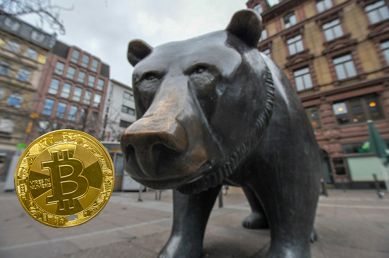 Bitcoin may have entered a bear market, teasing its lowest level in six months