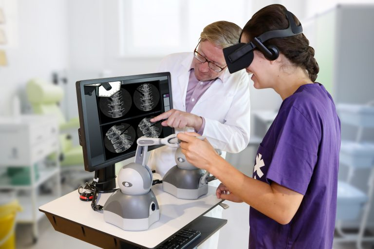 Driving fundamental change in the world of medical training with virtual reality surgical simulations - featuring haptic feedback, plus real-time assessment on compact, low-cost hardware