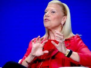 Outgoing IBM CEO Ginni Rometty