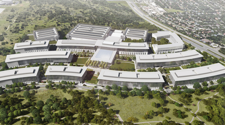 Apple breaks ground on $1B Austin campus that will house up to 15,000 employees