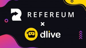 refereum-dlive-partnership
