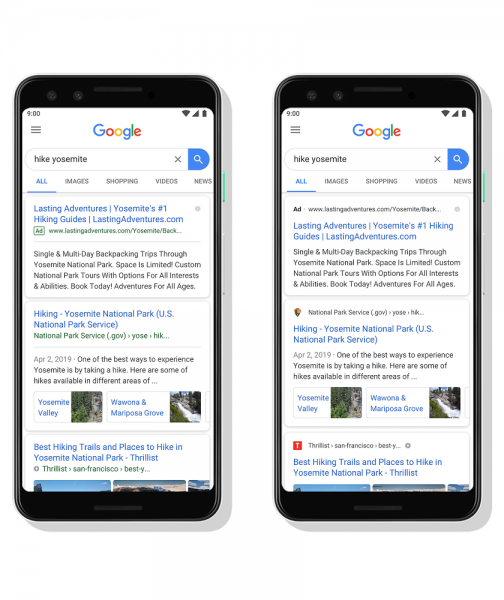 Google backtracks on design that made ads look like organic results