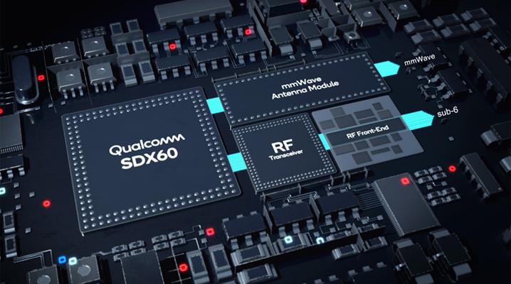 Qualcomm's new 5-nanometer X60 modem chip will power next-gen 5G phones - SiliconANGLE
