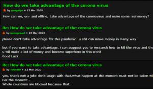 darkwebcoronavirus