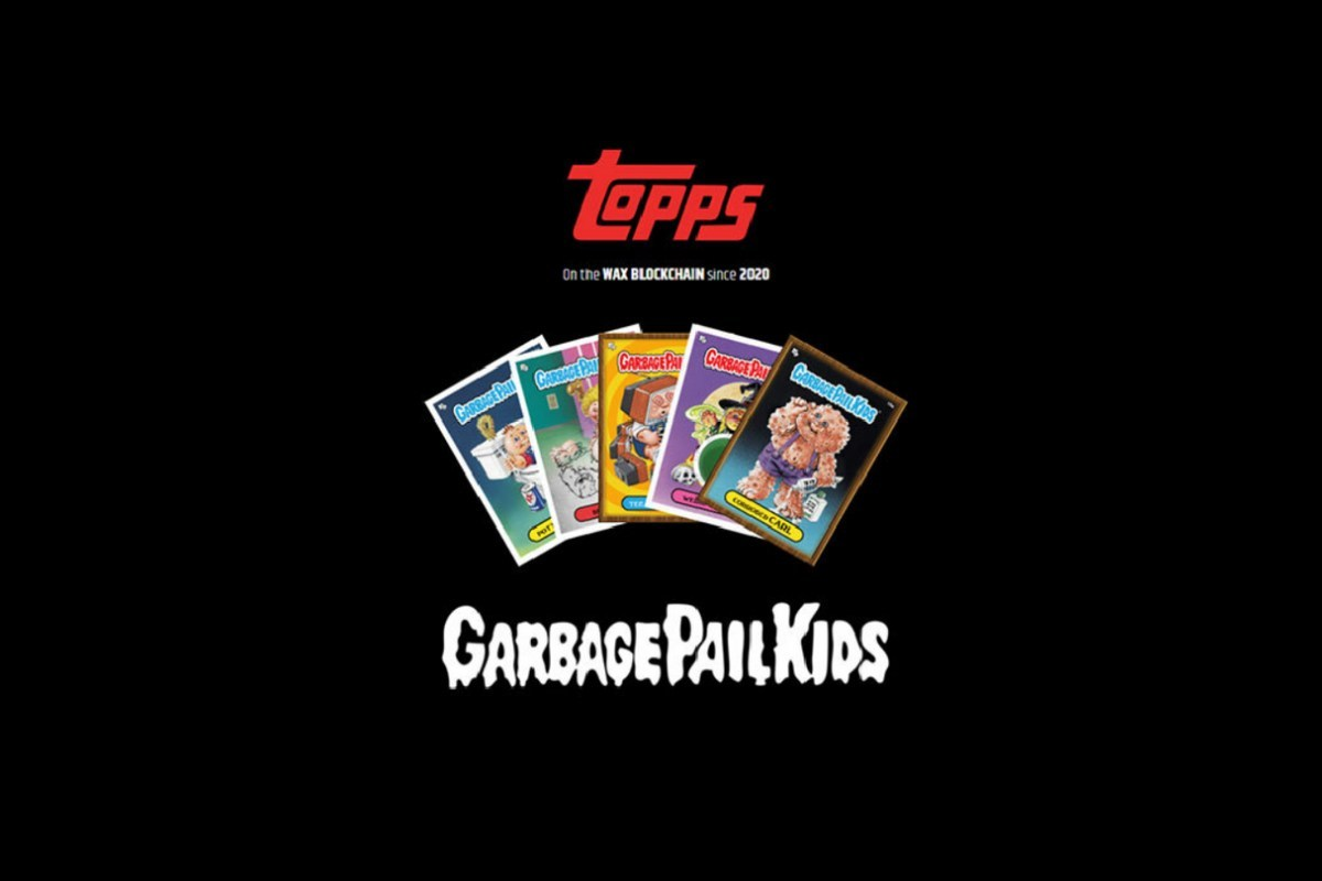 Topps Garbage Pail Kids digital collector cards a blockchain hit