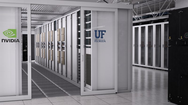 University of Florida and Nvidia partner to build academia's fastest supercomputer yet