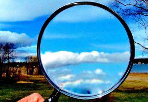 cloudsmagnifyingglass-kateterhaar-flickr
